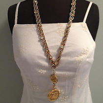Chanel Necklace-31 Rue Cambon Paris-Goldcrystalsbag Charm for Purse in Box Photo