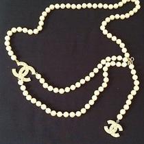 Chanel Pearl Cc Logo Belt/necklace Photo