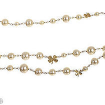 Chanel Pearl Four Leaf Clover Belt  Photo
