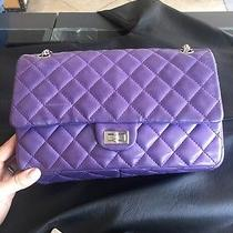 Chanel Purple Flap Bag Photo