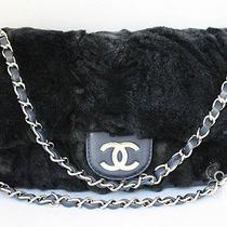 Chanel Rabbit Fur Classic Purse - Mint & Rare Photo