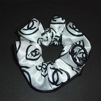 Chanel Rare Coco Logo Hair Elastic Band Hair Scrunchie New Vip Gift Only Photo