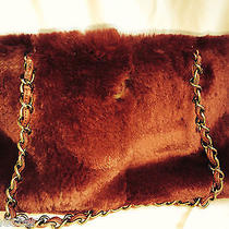 Chanel Rich Red Lapin Rabbit Fur Shoulder Bag - Beautiful Photo