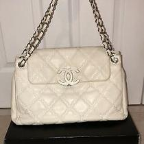 Chanel Sac Rabat Satchel Bag - Ivory Barely Worn Photo