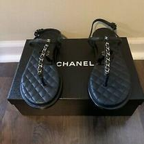 Chanel Sandals Size 38 Photo