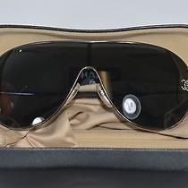 Chanel Silver/gray Aviator Sunglasses With Original Box on Sale Df Photo