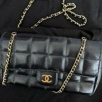 Chanel Single Chain Shoulder Bag 8543128 Purse Black 0206 Photo