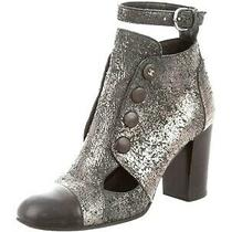 Chanel Size 38 Metallic Cutout Ankle-Booties  Photo