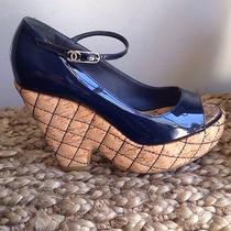 Chanel Size 7 Wedge Photo