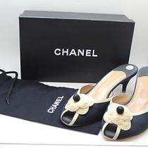 Chanel Slides With Iconic Camilla. Size 40 Mint Photo