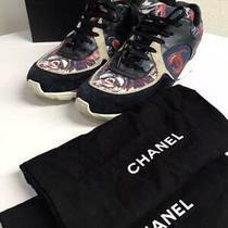 Chanel Sneakers Size 41 1/2 Box Storage Bag Photo