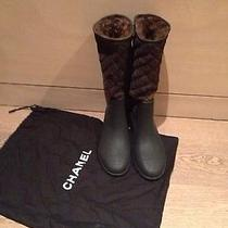 Chanel Snow Rainboots  Photo