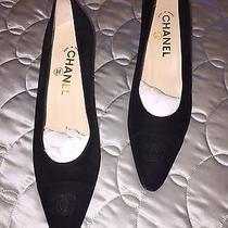 Chanel Suede Shoes Photo