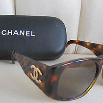 Chanel Sunglasses Authentic W/storage  Case  Photo