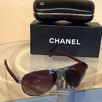 Chanel Sunglasses Aviator Model 4204q C461z9. New in Box  Photo