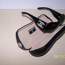 Chanel Sunglasses Black Mother of Pearl 5076-H Authentic   Photo