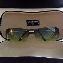 Chanel Sunglasses Designer Fashion Vintage Photo