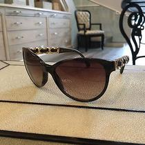 Chanel Sunglasses Leather Chain Photo