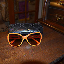 Chanel Sunglasses  Orange Photo