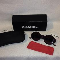 Chanel Sunglasses Vintage Leather 5140-O Photo