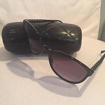 Chanel Sunglasses With Case Black Photo