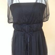Chanel Sz 42 Black Two Layer Top Can Be Worn Together or Apart Stunning Photo