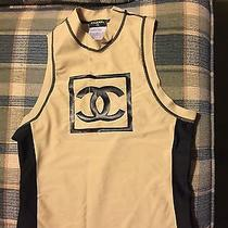 Chanel Top Stretchy With Chanel Logo Photo