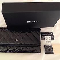Chanel Top Vogue Pick Black Cc Patent Dress Wallet Clutch Bag New 2014 Photo