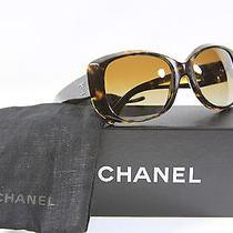 Chanel Tortoise Glossy Mother of Pearl Cc' Design Sunglasses 5183 W/box Etc Photo