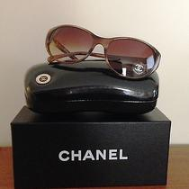 Chanel Tortoise Sunglasses New Bouton Collection Ch5181 Photo