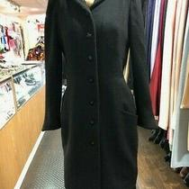 Chanel Tweed Black Dress Coat Photo