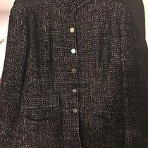 Chanel Tweed Jacket 44 Photo