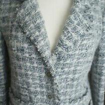 Chanel Tweed Skirt Blazer Suit 2005 Collection 05a Size 40 Photo