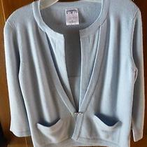 Chanel v-Neck Cashmere Sweater Photo
