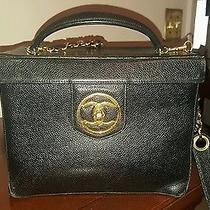 Chanel Vanity Bag Caviar Skin Photo
