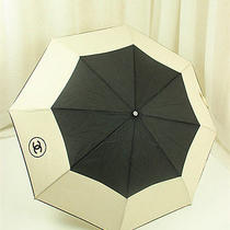 Chanel Vip Gift Umbrella -Black- Great Gift- With Gift Box and Bag - Limited  Photo