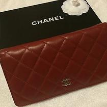 Chanel Wallet Red Lambskin Photo