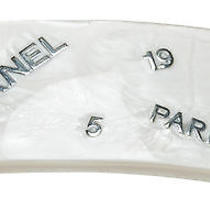 Chanel White and Silver 99a Hair Clip Photo