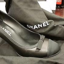 Chanel Woman Heels Half Price Size 38.5 Photo