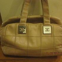 Chanel Womens Cavier Leather Satchel/purse Photo