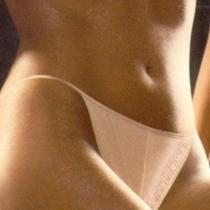 Chantelle Alhambra G String Thong Panty Large 2517 in Cappucino Nude Nwt Photo