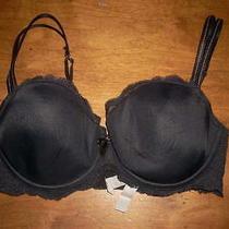 Chantelle Lace 32dd Black Lace Underwire Bra Photo