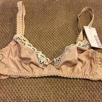Chantelle Wireless Ivory Full Coverage 34a Bra Nwt Photo