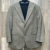 Chaps by Ralph Lauren Men's Size 44r Wool Sports Coat Blazer Jacket Tan Gold Photo