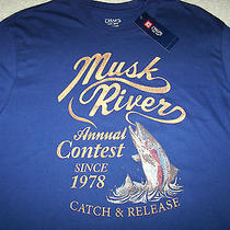Chaps by Ralph Lauren Musk River Men's T-Shirt Medium Nwt Photo