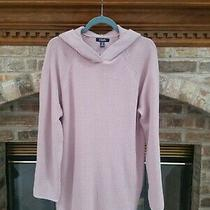 Chaps by Ralph Lauren Sz. Xx-Large Blush Pink Waffle-Weave Hooded Sweater Nwt Photo