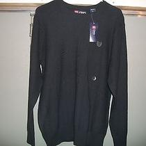 Chaps Mens Hudson River Textured Sweater Size Medium Large and X Large Nwt Photo