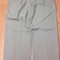 Chaps Ralph Lauren Khaki Color Polyester Blend Dress Pants 41x34 Q03 Photo
