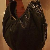 Charles David Leather  Black Hobo Bag  Photo