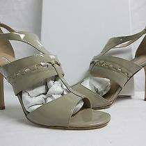 Charles David Size 10 M Rapture Fossil Patent Open Toe Heels New Womens Shoes Photo